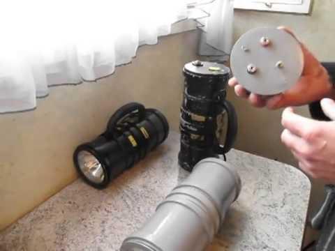 Ксеноновый фонарь своими руками для подводной охоты