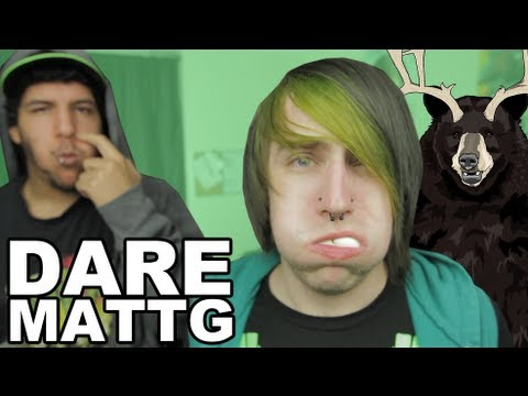 Dare MattG - 59 (Public Troll Tampon Prank, Dude Egg Challenge, Mio Chug)