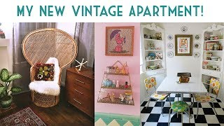 My New Vintage Apartment! | Emily Vallely