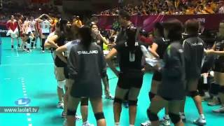 ไทย - จีน Thailand - China Volleyball World Grandprix 2012 - Ningbo, China