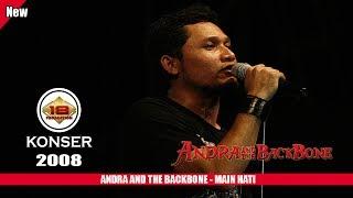 ANDRA AND THE BACKBONE - MAIN HATI (LIVE KONSER SLAWI 2008)
