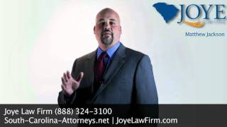Matthew Jackson South Carolina Attorney on Temporary Disability