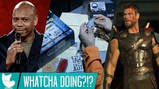 NETFLIX COMEDY; ESCAPE ROOM THE GAME & THOR RAGNAROK TRAILER! (Whatcha Doing?!?) | SDS Ep. 82