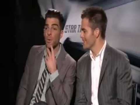 Chris Pine & Zachary Quinto Wordplay Compilation
