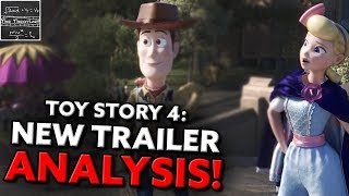 The New Toy Story 4 Trailer Reveals EVERYTHING! - Teaser Analysis [Theory]
