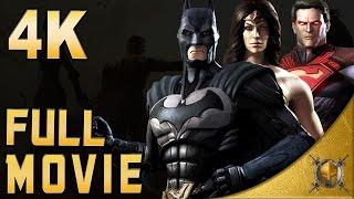 Injustice: Gods Among Us (PC) - 4K Gameplay - Full Movie - All Cinematics [2160p]