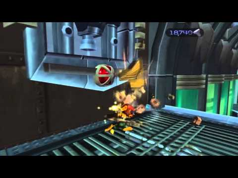 Ratchet & Clank HD 100% Walkthrough Part 21 - Gemlik Base, Oltanis Orbit