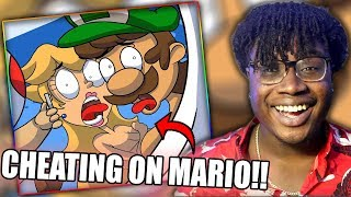 PEACH AND LUIGI HOOK UP BEHIND MARIO'S BACK! | If Mario Party was a Reality TV Show Reaction!