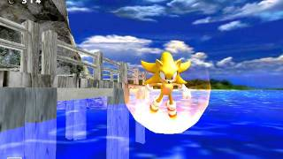 Sonic Adventure DX PC- Real Super Sonic in Emerald Coast