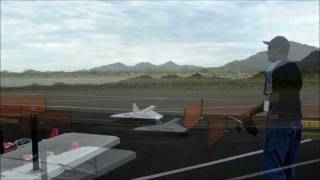 Huge R/C Concorde SST Backflip Failed Takoff Successful Save