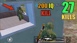 HE DIDN'T EXPECT THIS GRENADE | 27 KILLS SOLO VS SQUAD | PUBG MOBILE