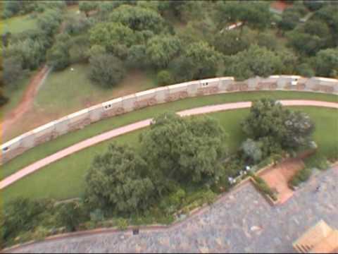 Bezoek aan Pretoria in Zuid-Afrika