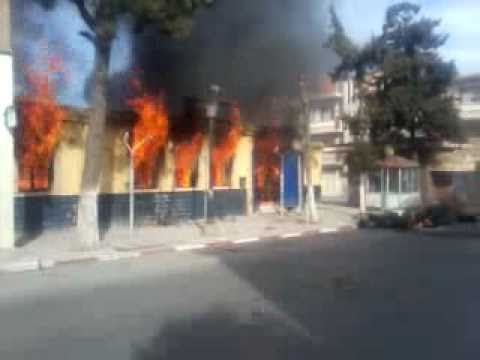 algeria-sidi-embarek-events-post office burning.mp4