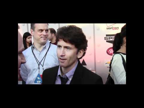 VGA 2011 Red Carpet arrival with Skyrim