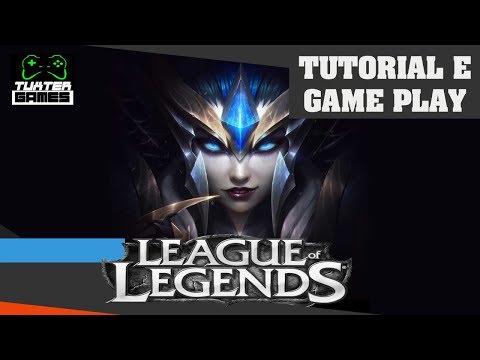 Tutorial e game play League of Legends Linux