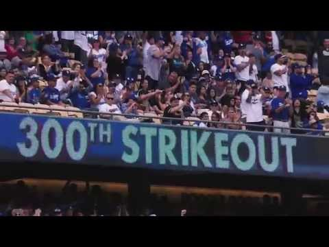 Clayton Kershaw's 301 strikeout season (montage)