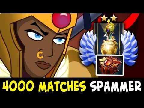 4000 matches Divine Rank Legion Commander spammer — Solar Crest every game