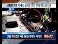 Thieves escape with car tyres in Delhi