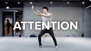 Download Lagu Attention - Charlie Puth / Bongyoung Park Choreography Gratis STAFABAND