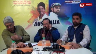 Live India vs Australia 2nd Test Day 3 #Cricket Match Commentary from stadium | #SportsFlashes