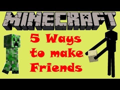 5 Ways to make Friends in Minecraft