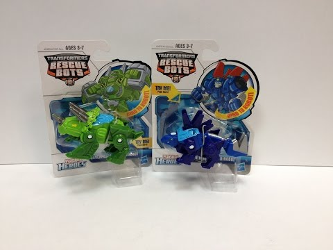 Transformers Rescue Bots - Dinobot BOULDER and CHASE