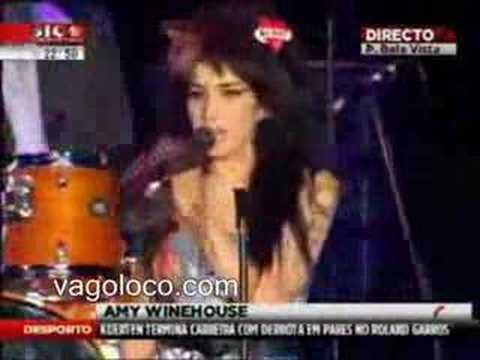 Amy Winehouse borracha en el escenario de Rock in Río