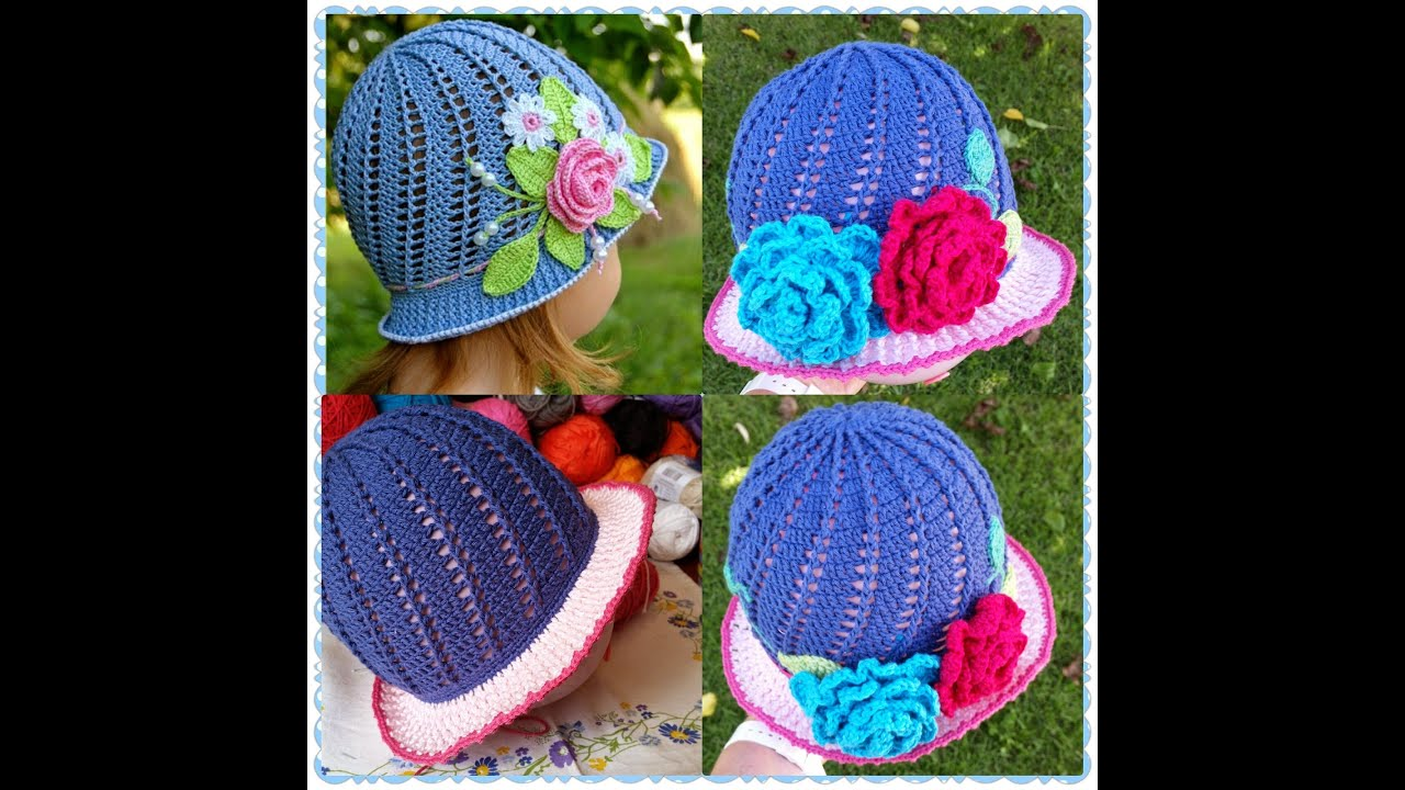 Little Girls Blue Part 2 Little Girls Cloche Hat Part 2