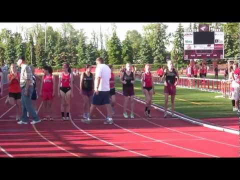 Girls 800 m Altoona Middle School Track Championship