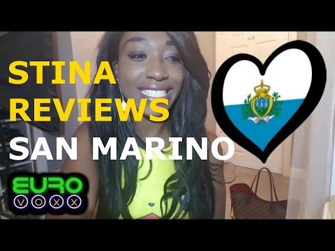San Marino Eurovision 2017!! Valentina Monetta & Jimmie Wilson reaction!! #StinaReviews #Eurovoxx