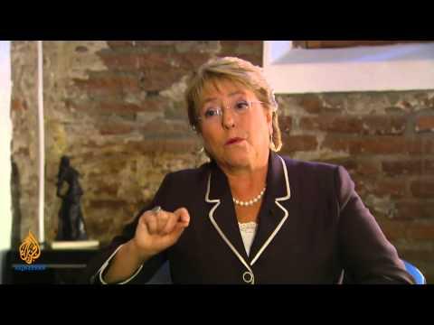 Talk to Al Jazeera - Michelle Bachelet: 'I love my country'