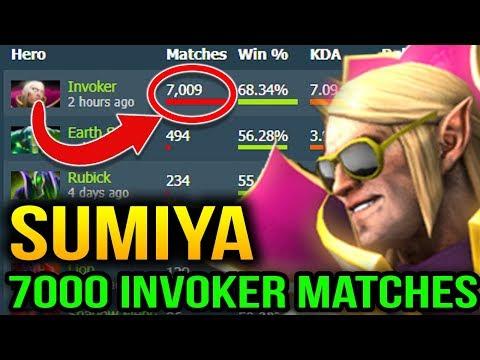 SUMiYa 7000 INVOKER MATCHES Dota 2 7.07c