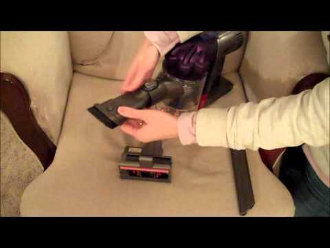 Dyson DC31 Animal Handheld Vacuum Cleaner video review