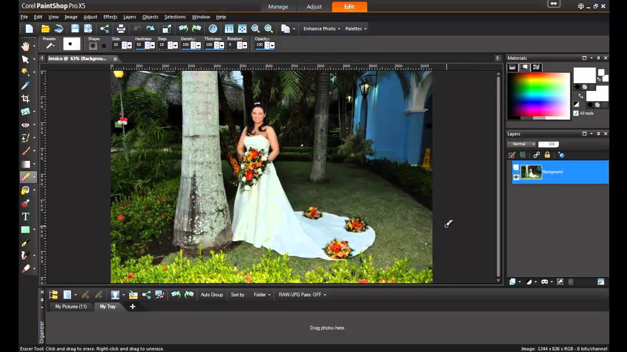 How To Remove Watermark In Corel Paint Shop Pro