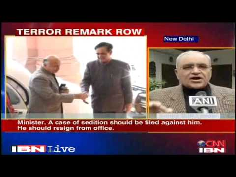 BJP demands sedition charge against Shinde Politics News Videos