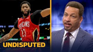 Chris Broussard on the chances Anthony Davis will join LeBron, Lakers next year | NBA | UNDISPUTED