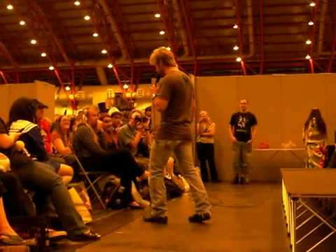 London Film and Comic Con 09 - Vic Mignogna 'Short Rant'
