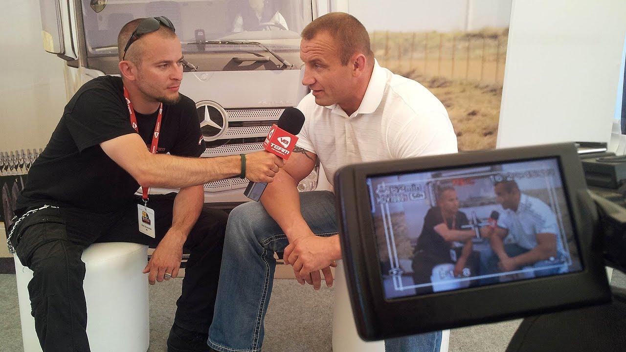 Mariusz Pudzianowski Wywiad 20 Trakerskie Spotkanie W Krakowie Rozmowa O Ciężar 243 Wkach