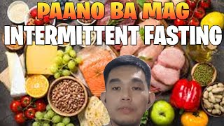 Ano ang INTERMITTENT FASTING? Coach Lloyd
