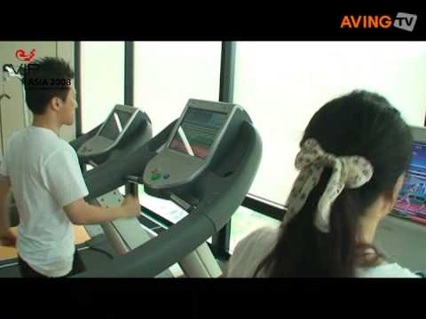 Treadmill Game with Interactive Automatic Speed Control