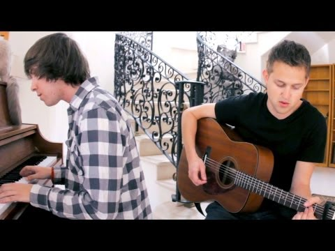 &quot;Just Keep Breathing&quot; We The Kings (Luke Conard and JonD Acoustic Cover)