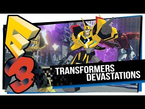 Transformers Devastation anunciado na E3