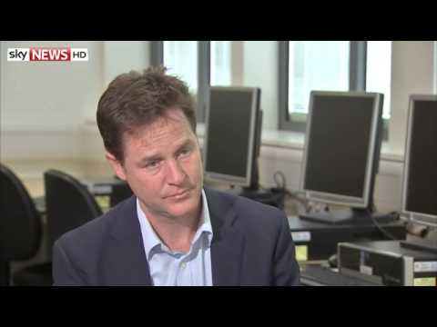 Nick Clegg Sits Down With Faisal Islam
