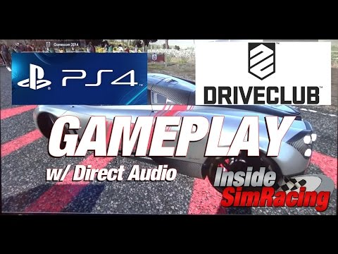 Driveclub - Playstation 4 Gameplay with Direct Audio