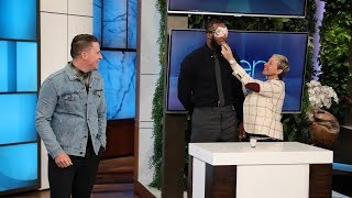 LeBron James & Channing Tatum Do Ridiculous Dares for the I Promise School  from TheEllenShow