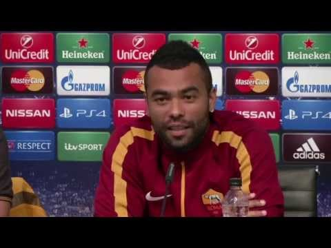 Roma's Ashley Cole on Lampard scoring v Chelsea: They probably didn't like that!