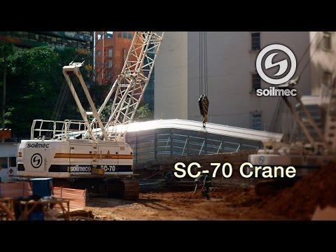 Soilmec SC 70 Crane [electro-hydraulic proportional control]