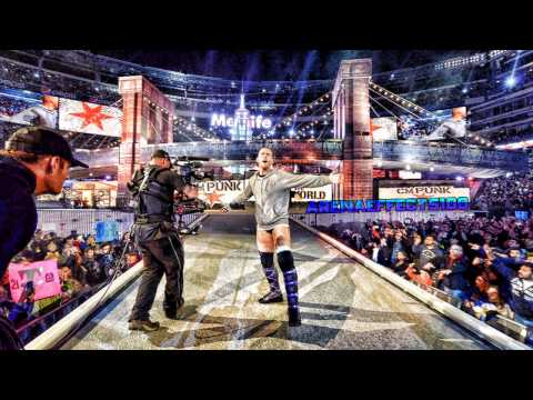 CM Punk 2nd WWE Theme Song  Cult of Personality (Arena Effects...