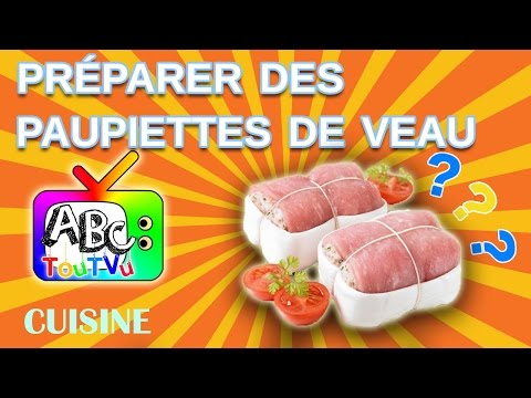 recette paupiettes de veau youtube. Black Bedroom Furniture Sets. Home Design Ideas