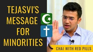 Tejasvi Surya with a STRONG message for Minorities (Chai With Red Pills)